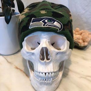 NFL Seattle Seahawks Camo Printed Knit Beanie